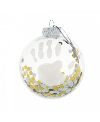 Baby Art Коледна топка Christmas Ball Baby Art - прозрачна