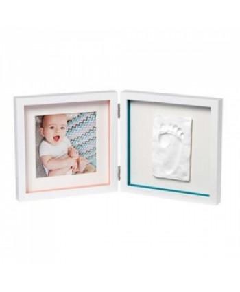 Baby Art Отпечатък + снимка (бяла рамка, бяло паспарту) My Baby Style