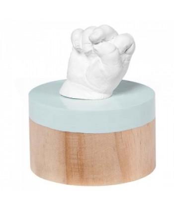 Baby Art Отливка с дървен постамент My Very First 3D