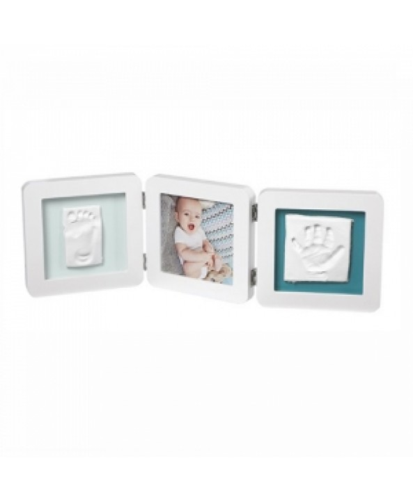 Baby Art Отпечатък за ръчичка и краче (квадратен) BABY ART white/pastel