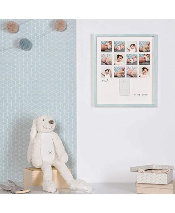 Baby Art Комплект 1-ва Година Baby Art My Very First Year (св.синя рамка)