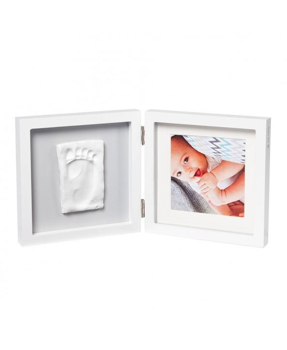 Baby Art Отпечатък + снимка (бяла рамка, сиво паспарту) My Baby Style