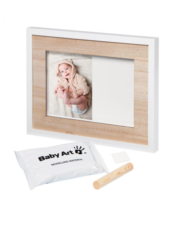 Baby Art Отпечатък със снимка Wall Print Tiny Style Wooden