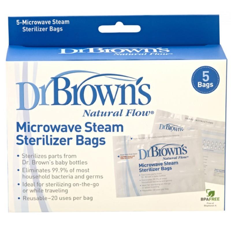 Dr. Brown's Торбички за парна стерилизация в микровълнова фурна