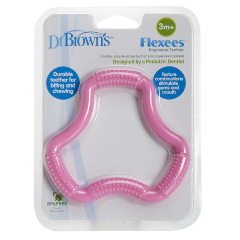 "Dr. Brown's  Ергономична чесалка ""Flexees"""