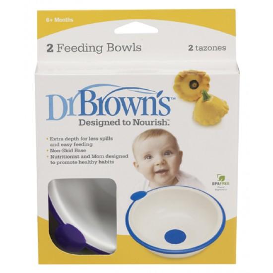 Dr. Brown's  Купички за хранене , 2 броя