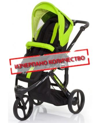 ABC DESIGN Бебешка количка COBRA PLUS LIME