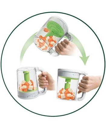AVENT Комбиниран уред за готвене на пара и блендер с подарък - AVENT Комплект за хранене