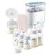 AVENT Eлектрическа помпа Natural Motion + Електрически стерилизатор Advanced +  Комплект за новородено Anti-Colic Airfree с тренировъчно шише