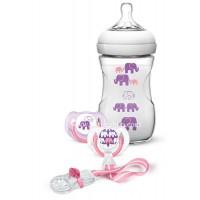 AVENT Подаръчен комплект – дизайн слончета