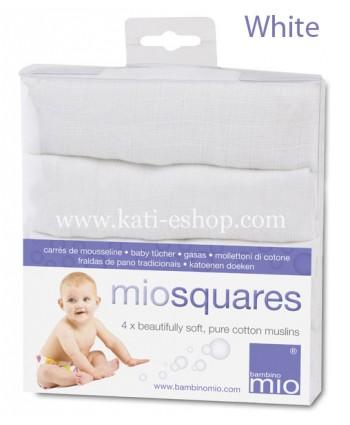 Bambino Mio Муселинови кърпи MioSquares  4бр.