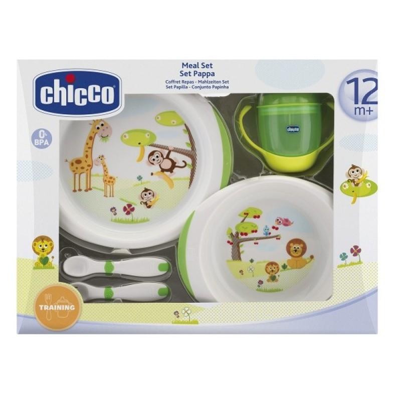 Chicco Комплект за хранене 5 части