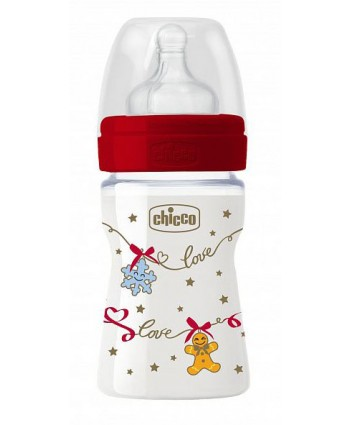 Chicco Коледно шише 150мл Limited Edition