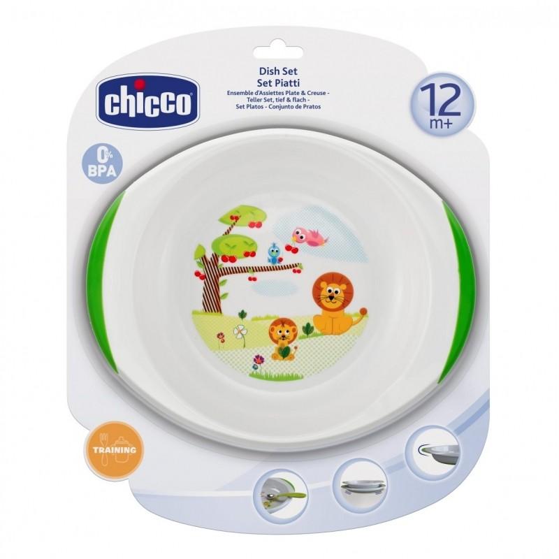 Chicco Комплект за хранене 12+м