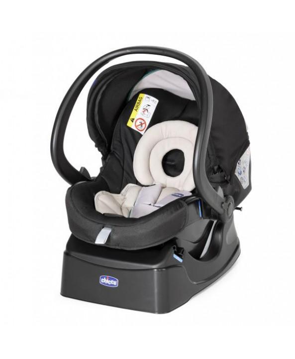 Chicco Столче за кола Auto-Fix Fast - група 0+ (включена база) 0-13 кг Night