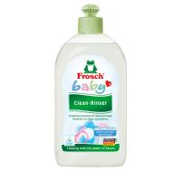 Frosch Baby Препарат за почистване и изплакване на бебешки съдове и биберони 500мл