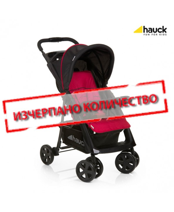 Hauck Лятна количка Shopper COMFORTFOLD BLACK/RED