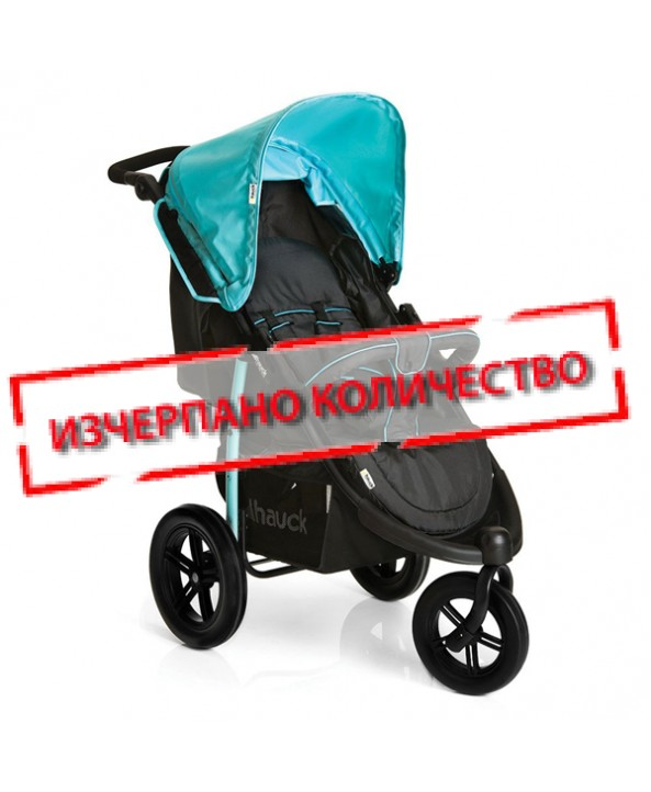 Hauck Лятна количка - триколка VIPER SLX CAVIAR/CAPRI