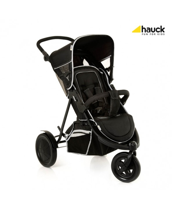 Hauck Комбинирана количка за 2 деца FREERIDER BLACK