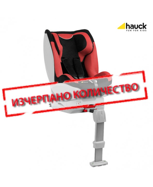 Hauck Стол за кола Varioguard inkl. Isofix Black/Red
