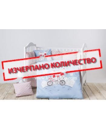 Kikkaboo Детски спален комплект Bunnies - 7 части