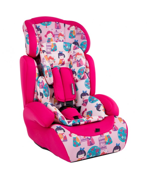 Kikkaboo Стол за кола Groove Pink dolls