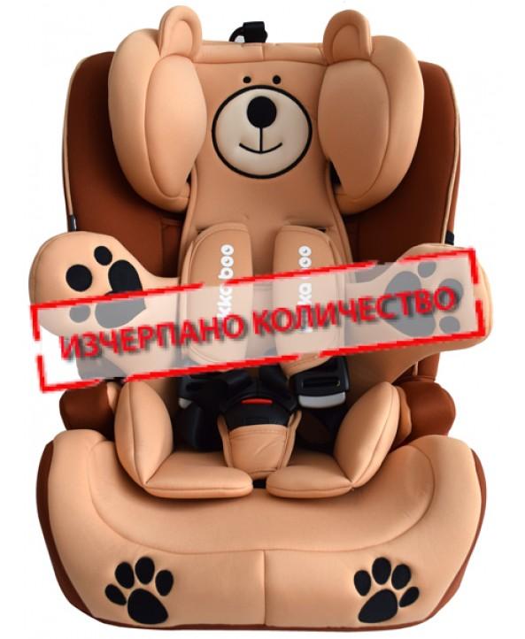 Kikkaboo Столче за кола Bear Guard Beige