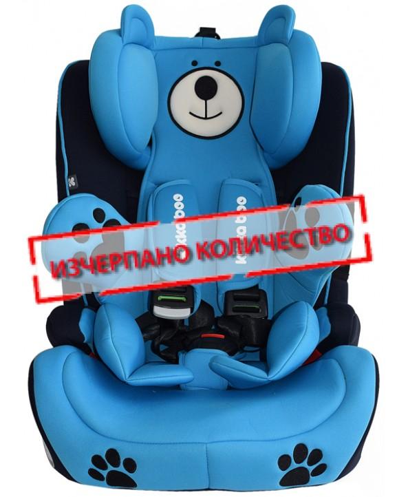Kikkaboo Столче за кола Bear Guard Blue