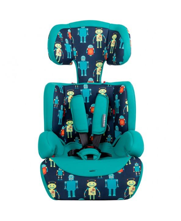 Kikkaboo Стол за кола Groove Blue Robots