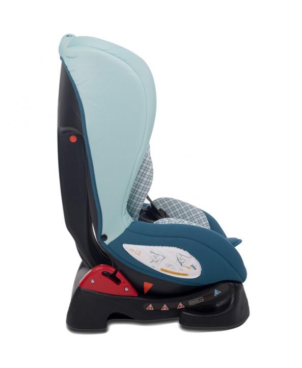 Kikkaboo Столче за кола Vintage Mediteraneo Light Blue
