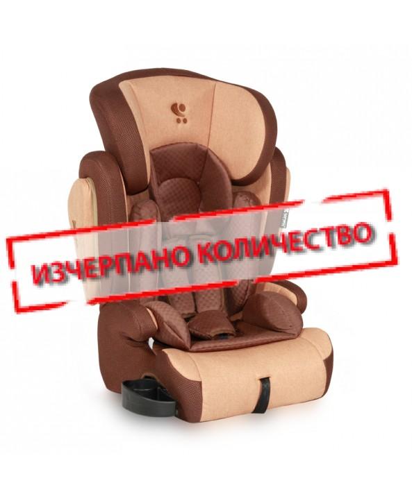 Lorelli Столче за кола OMEGA+SPS Beige&Brown - Lorelli