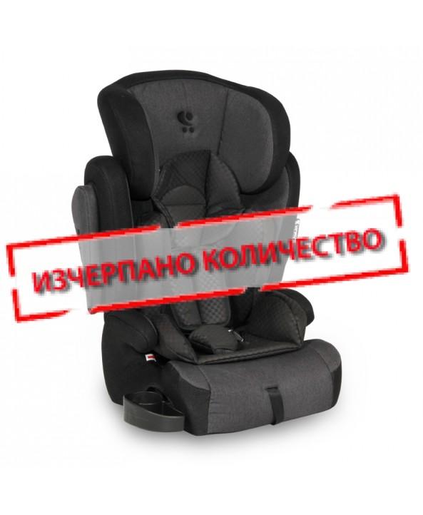 Lorelli Столче за кола OMEGA+SPS Black - Lorelli