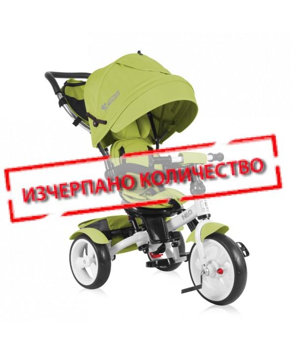 Lorelli Триколка NEO /Eva гуми/ Светло Зелена - Lorelli