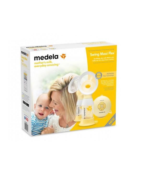 Medela Двойна двуфазна електрическа помпа за кърма Medela Swing Maxi Flex