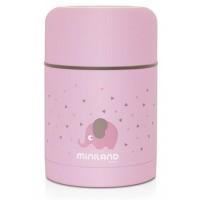 Miniland Термос за храна 600 мл - розов