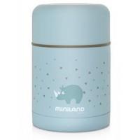 Miniland Термос за храна 600 мл - син