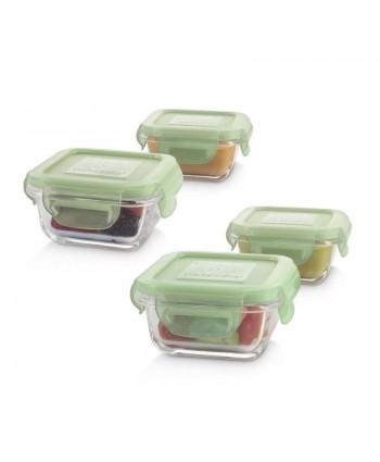 Miniland Стъклени контейнери 4х160мл