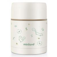 Miniland Термос за храна 600 мл - Natur (катеричка)