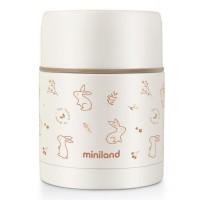 Miniland Термос за храна 600 мл - Natur (Зайче)