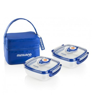 Miniland Комплект кутии Hermifresh - син
