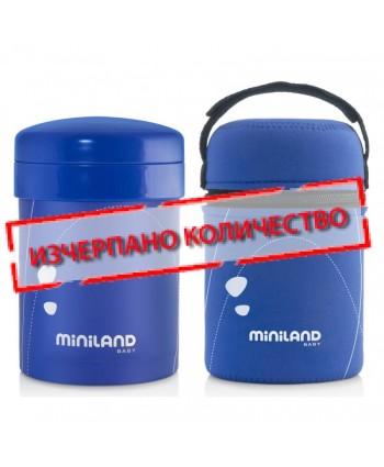Miniland Термос Thermetic - син 700/350/200 мл