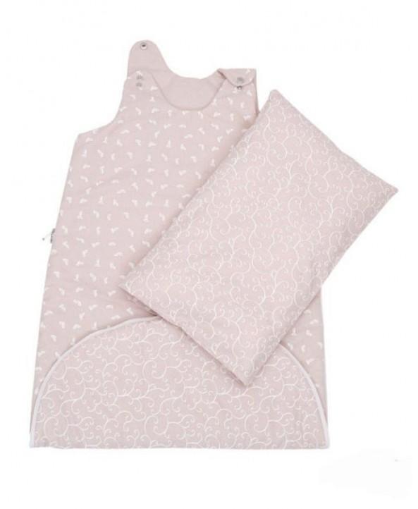 Motherhood Спално чувалче с възглавница и калъфка