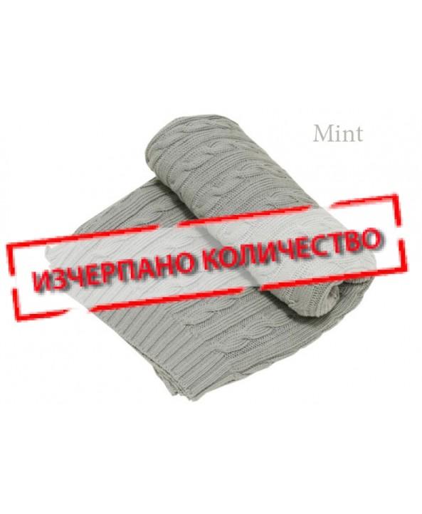 Motherhood  Плетено памучно одеало