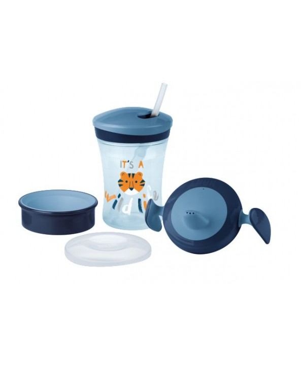 NUK СЕТ Evolution Cups All-in-one - Син