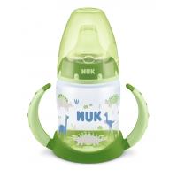 NUK FC РР Шише 150мл с накрайник силикон за сок 6+ - зелена