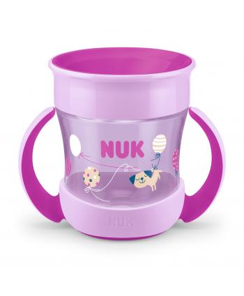 NUK Магическа чаша Magic Cup 6м. 160мл - розова