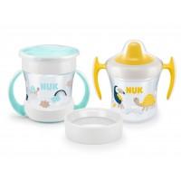 NUK Сет Mini Cups 3in1 - неутрал