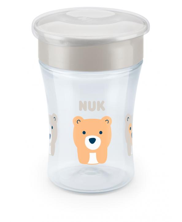 NUK Чаша Magic Cup 230мл 8+ бяла