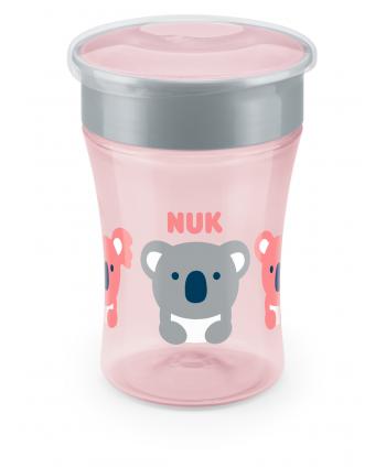 NUK Чаша Magic Cup 230мл 8+ розова