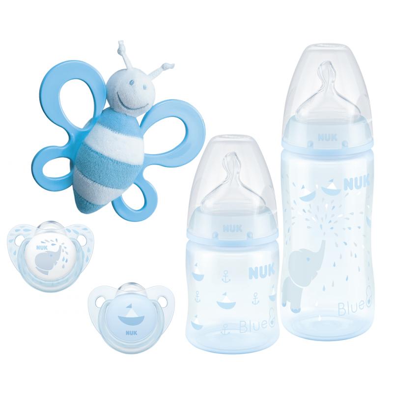 NUK Подаръчен сет BLUE